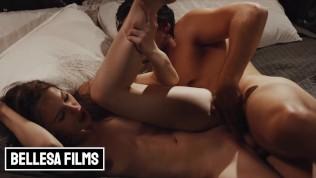 Bellesa – Athletic brunette Jillian Janson gets a hot guy